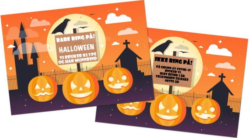 Halloween 2020 plakater